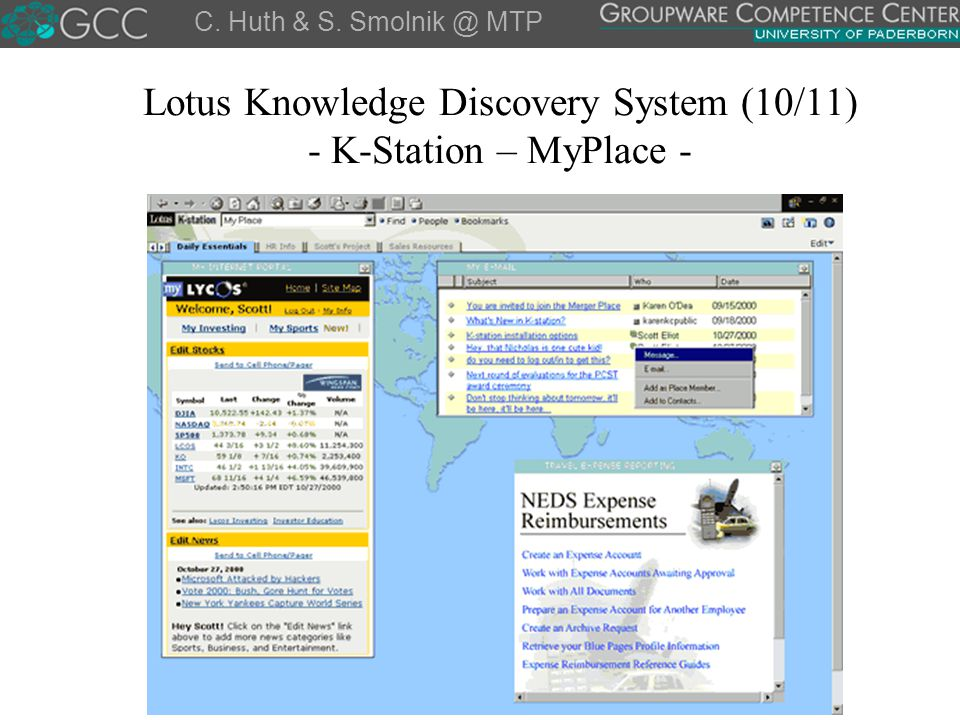 Lotus Knowledge Discovery System (10/11) - K-Station – MyPlace -