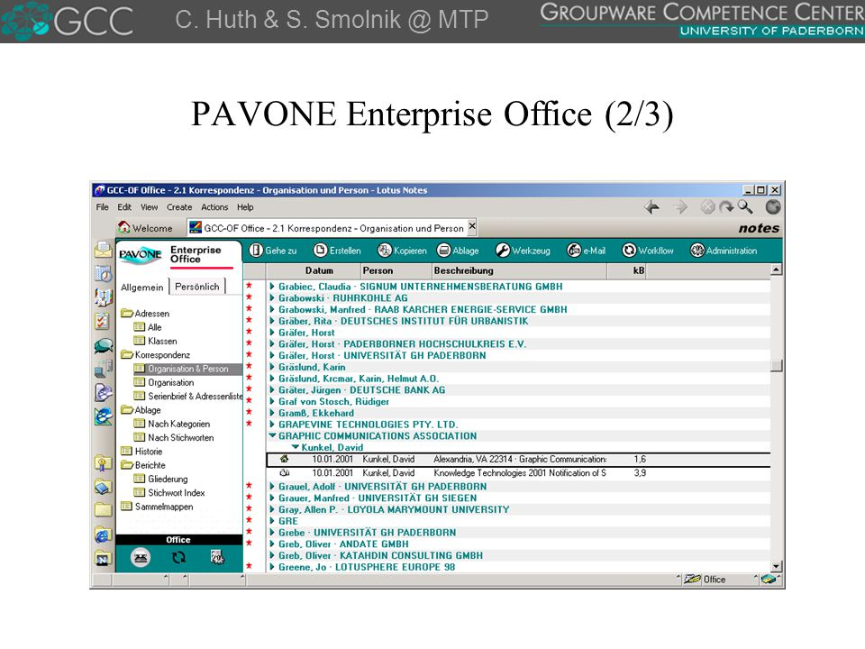 PAVONE Enterprise Office (2/3)