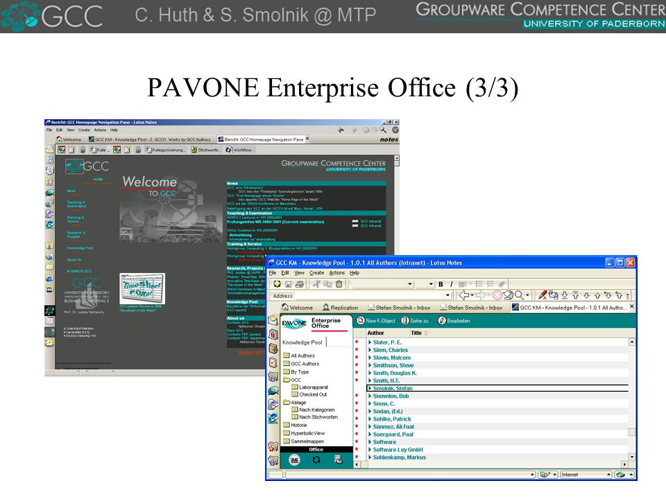 PAVONE Enterprise Office (3/3)