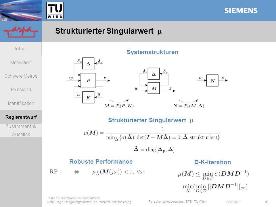 Strukturierter Singularwert 