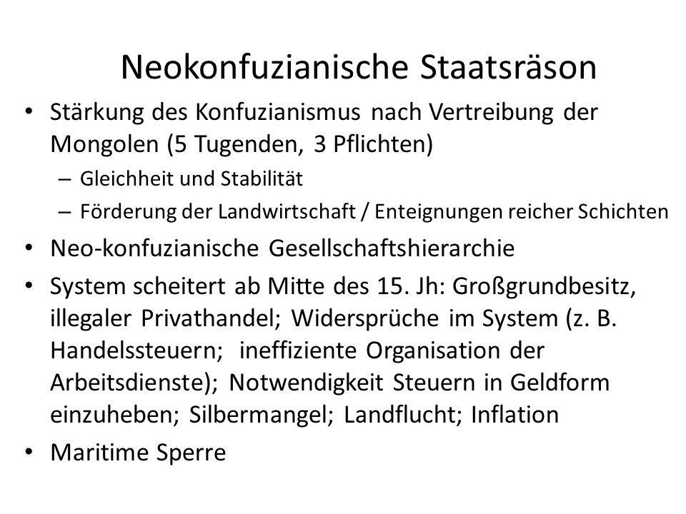 Neokonfuzianische Staatsräson