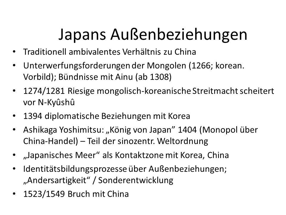 Japans Außenbeziehungen