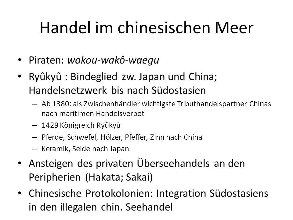 Handel im chinesischen Meer