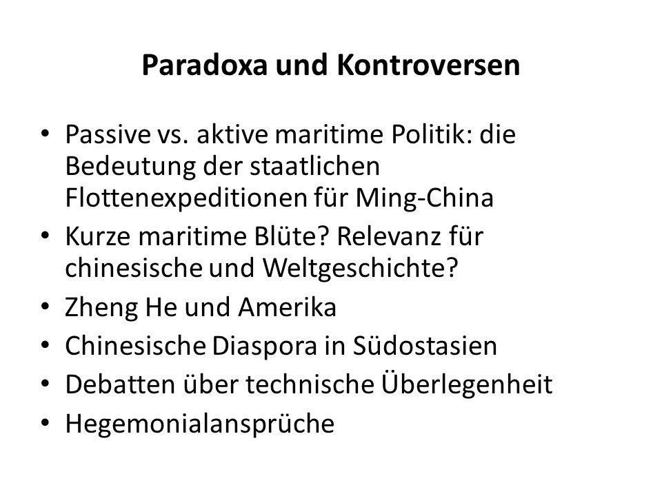 Paradoxa und Kontroversen