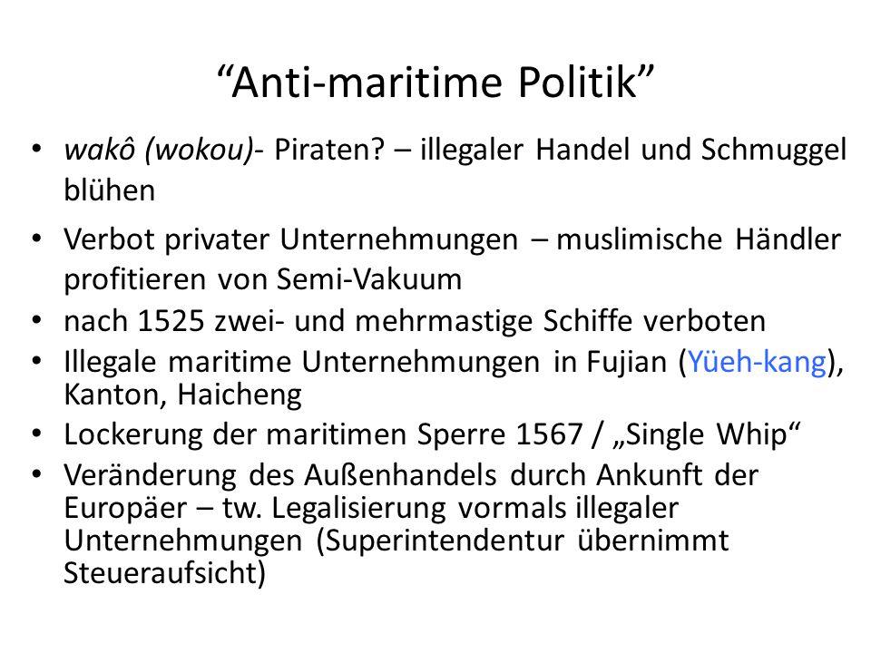 Anti-maritime Politik