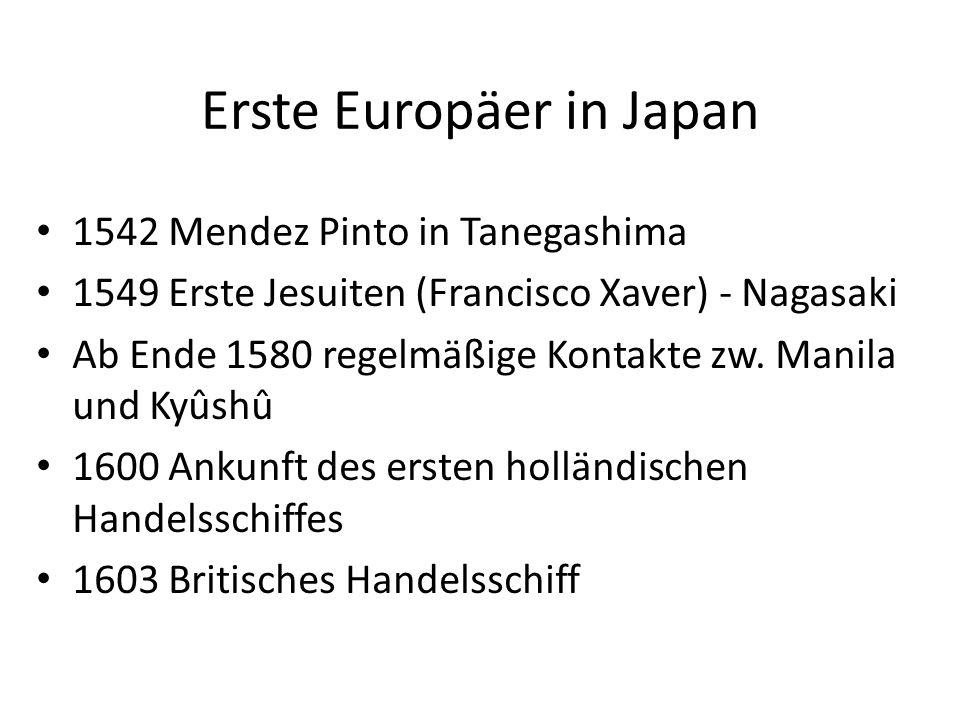 Erste Europäer in Japan