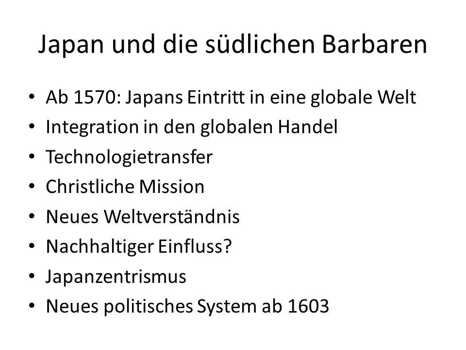 Japan und die südlichen Barbaren
