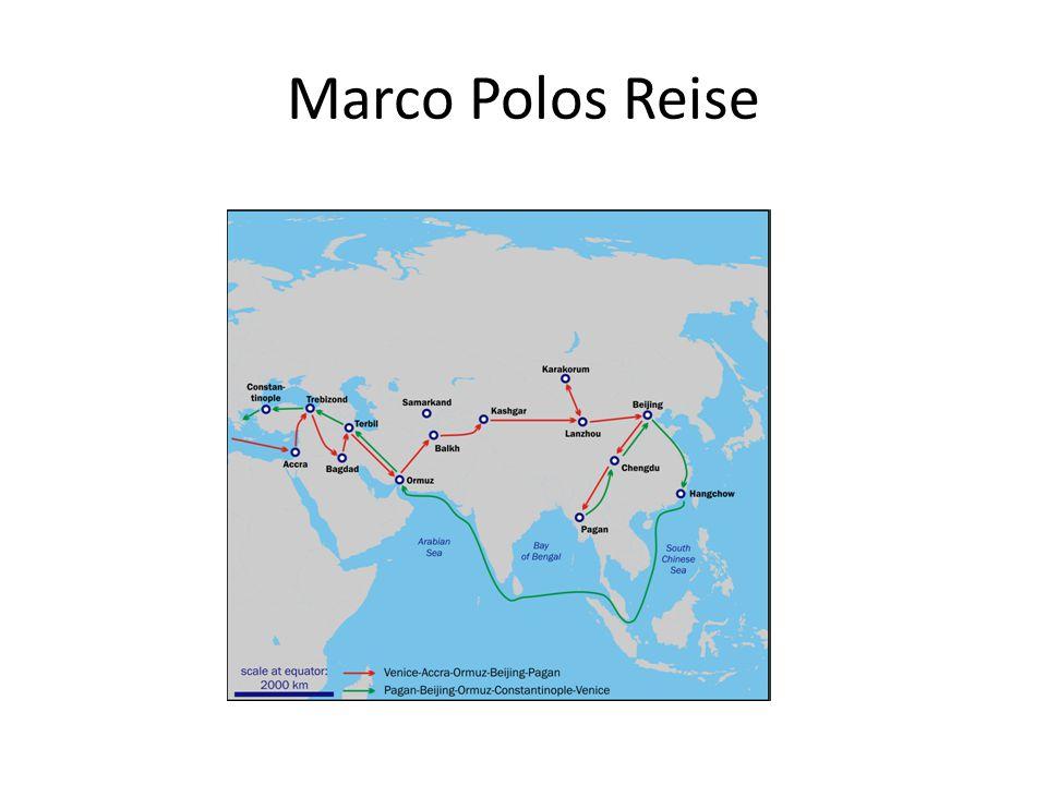 Marco Polos Reise