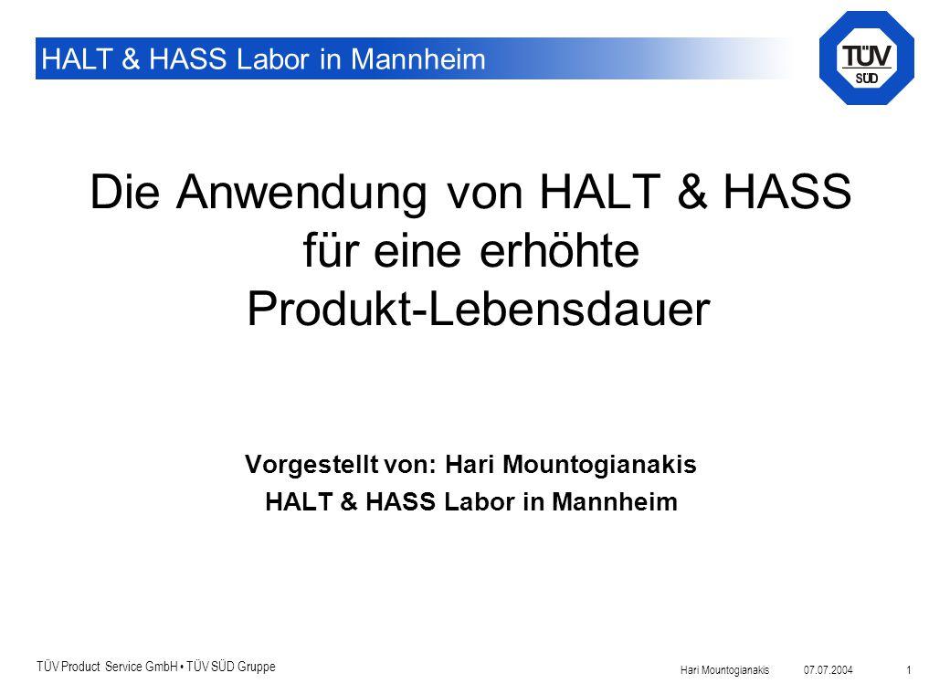 Die Anwendung von HALT & HASS für eine erhöhte Produkt-Lebensdauer