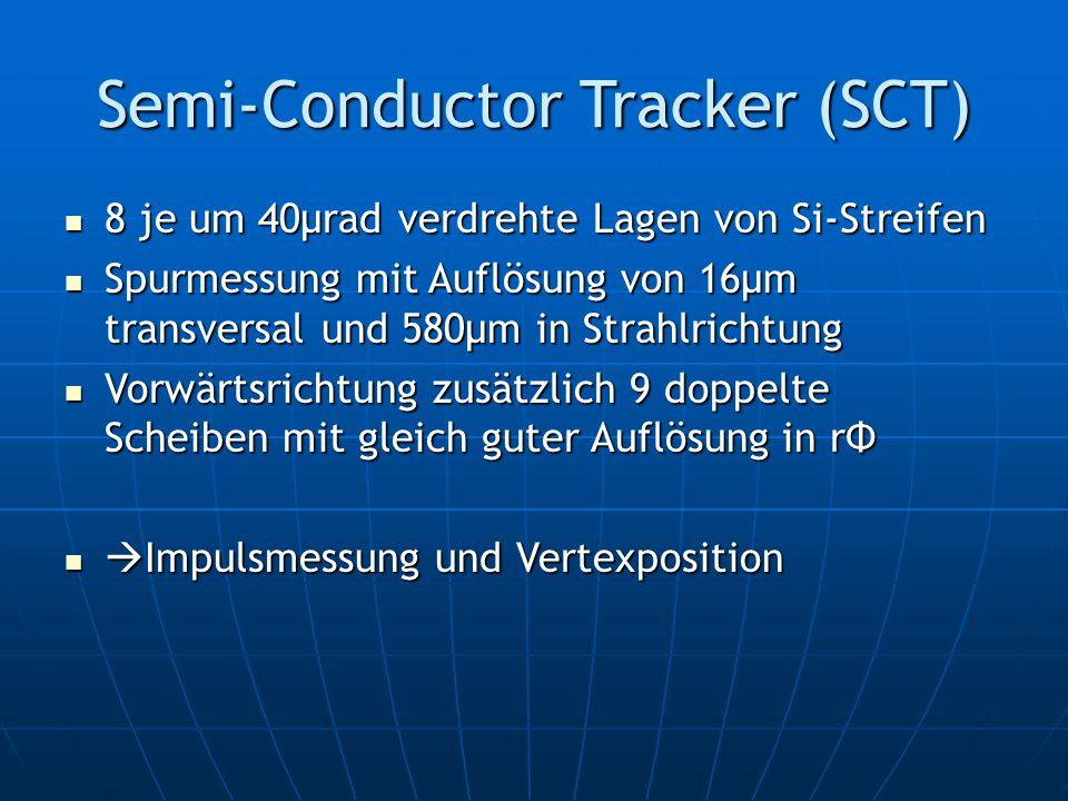 Semi-Conductor Tracker (SCT)