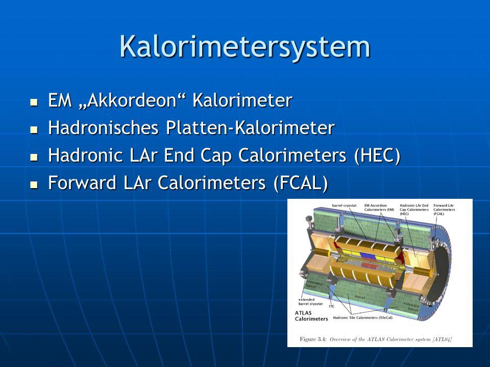 """Kalorimetersystem EM """"Akkordeon Kalorimeter"""