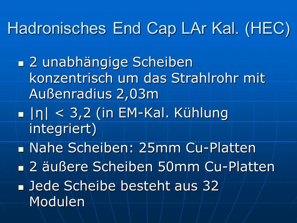 Hadronisches End Cap LAr Kal. (HEC)