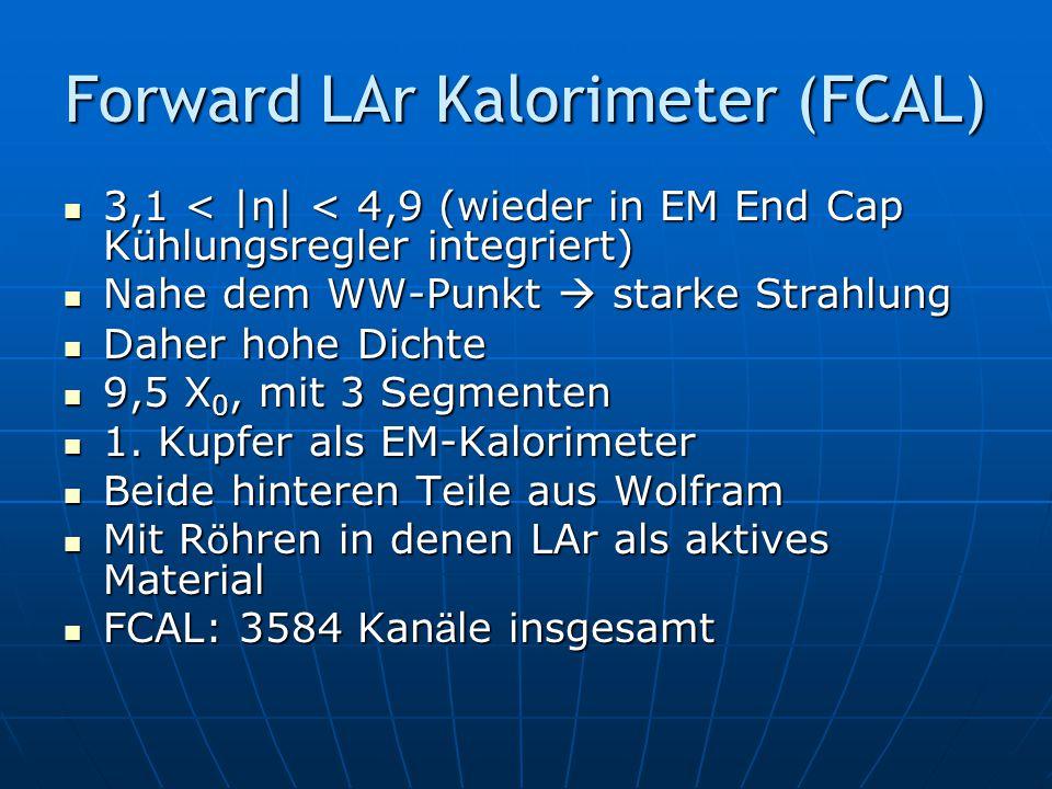 Forward LAr Kalorimeter (FCAL)
