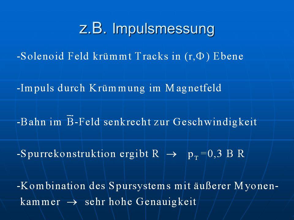z.B. Impulsmessung