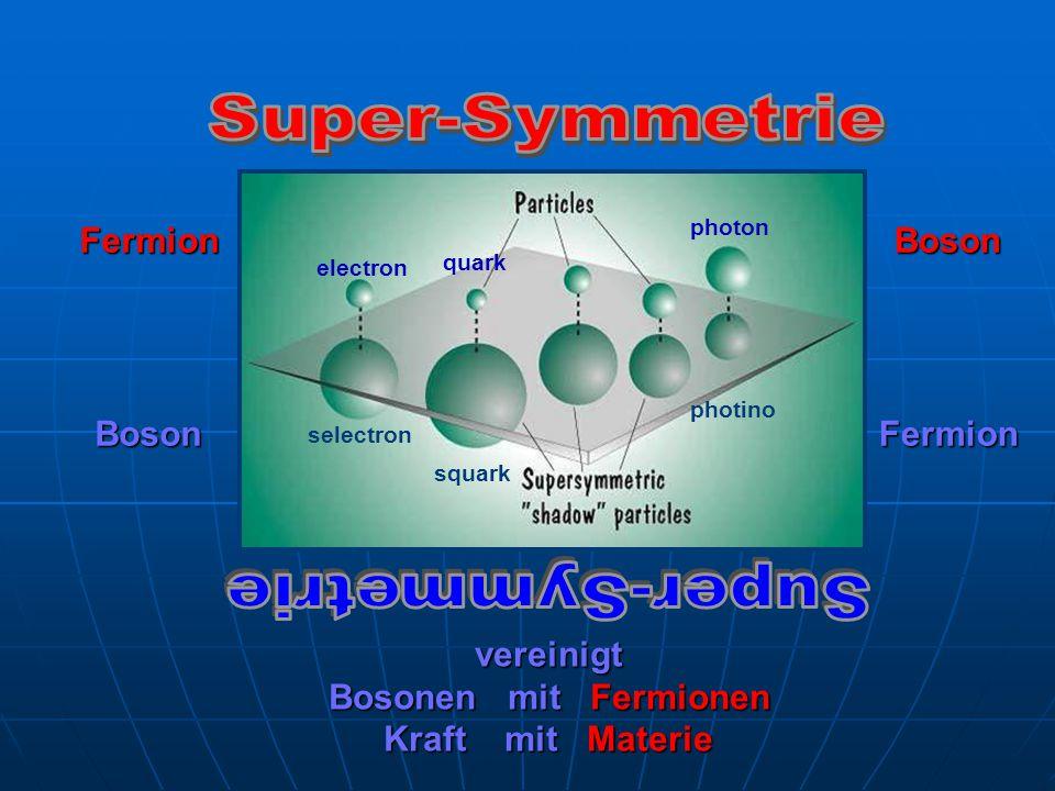 Fermion Boson Boson Fermion vereinigt Bosonen mit Fermionen