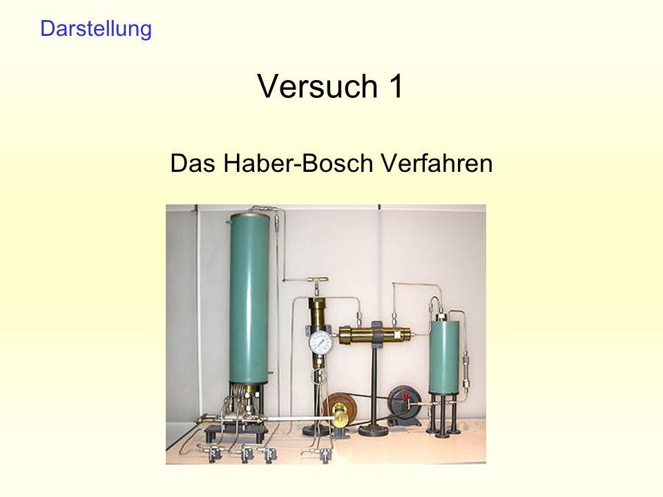 Das Haber-Bosch Verfahren