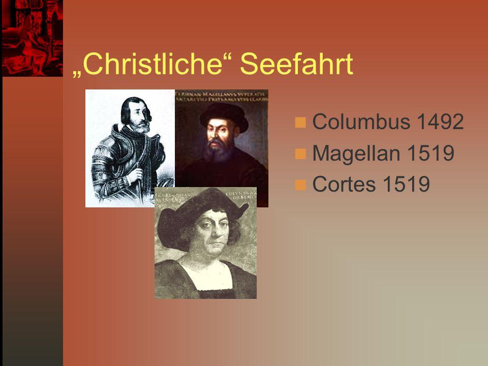 """""""Christliche Seefahrt"""