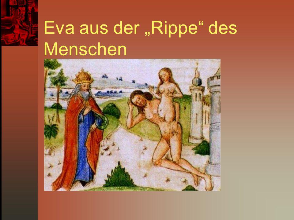"""Eva aus der """"Rippe des Menschen"""
