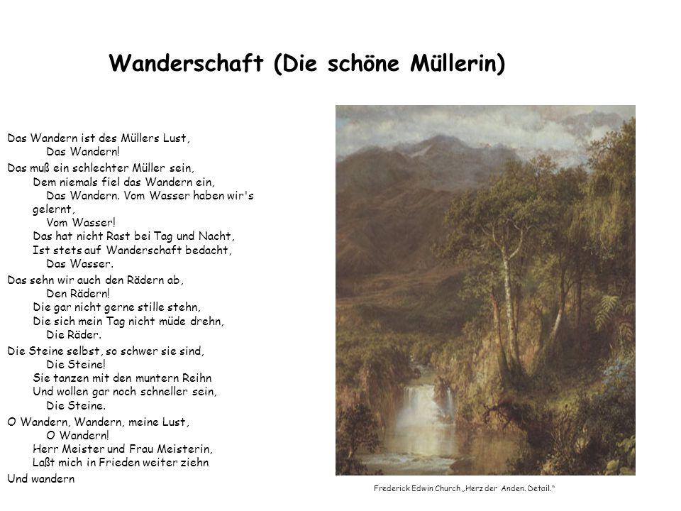 Wanderschaft (Die schöne Müllerin)