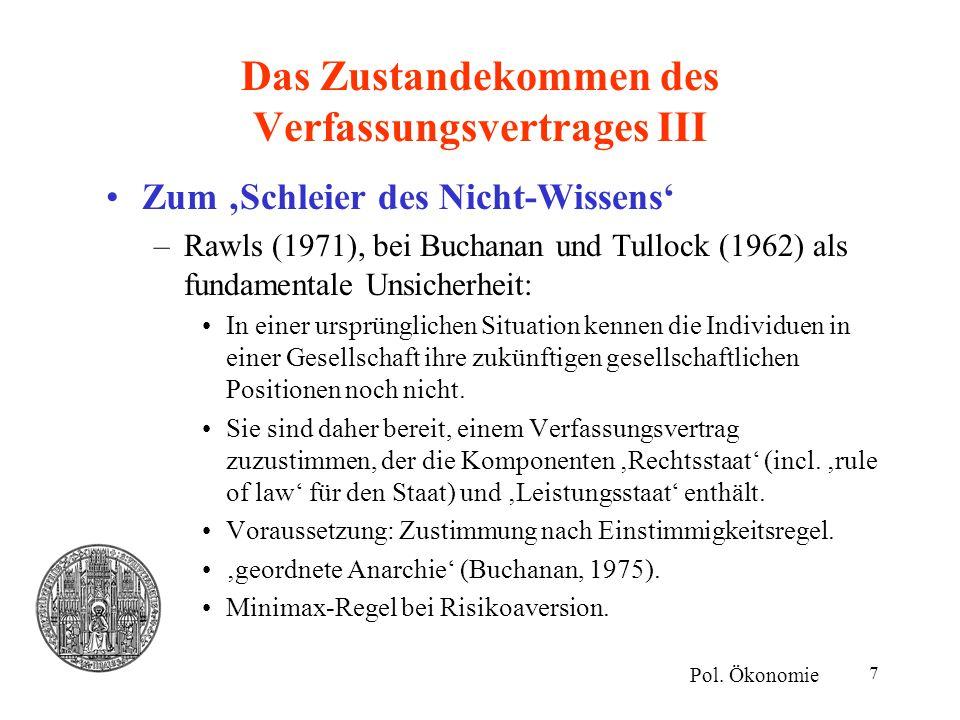 Das Zustandekommen des Verfassungsvertrages III