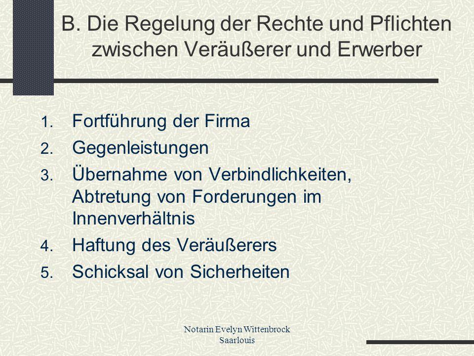 Notarin Evelyn Wittenbrock Saarlouis