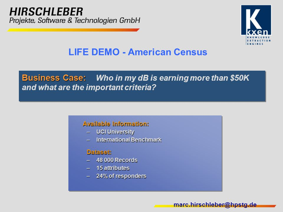 LIFE DEMO - American Census