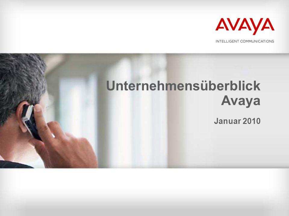 Unternehmensüberblick Avaya