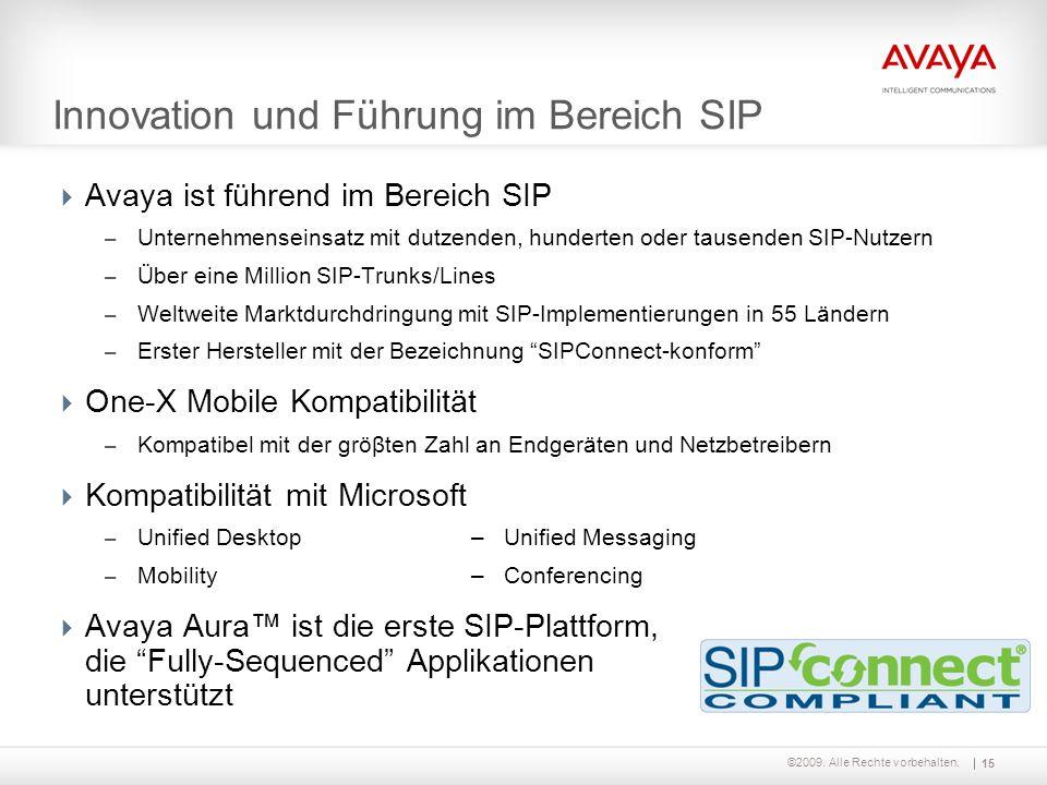 Innovation und Führung im Bereich SIP