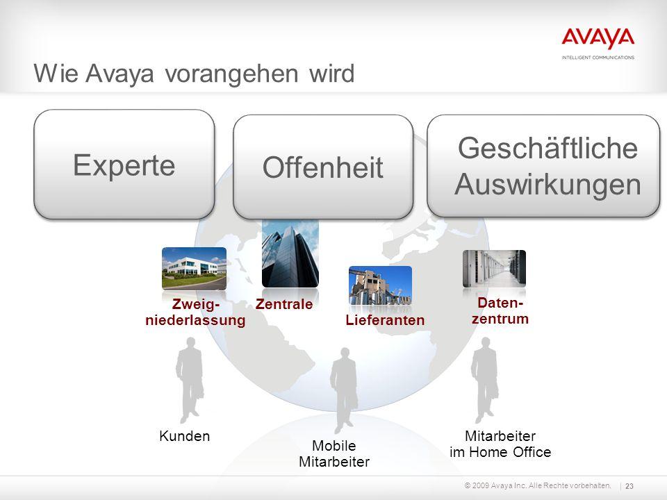 Wie Avaya vorangehen wird