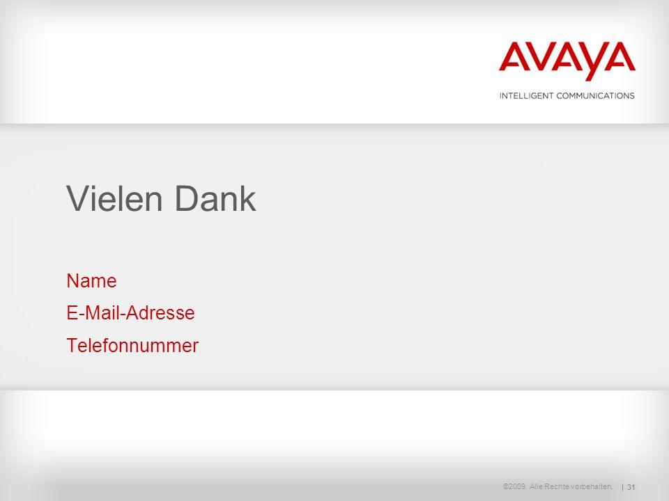 Name E-Mail-Adresse Telefonnummer