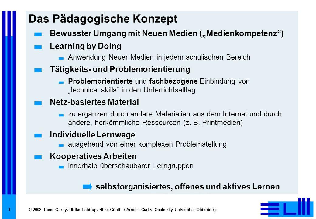 Das Pädagogische Konzept