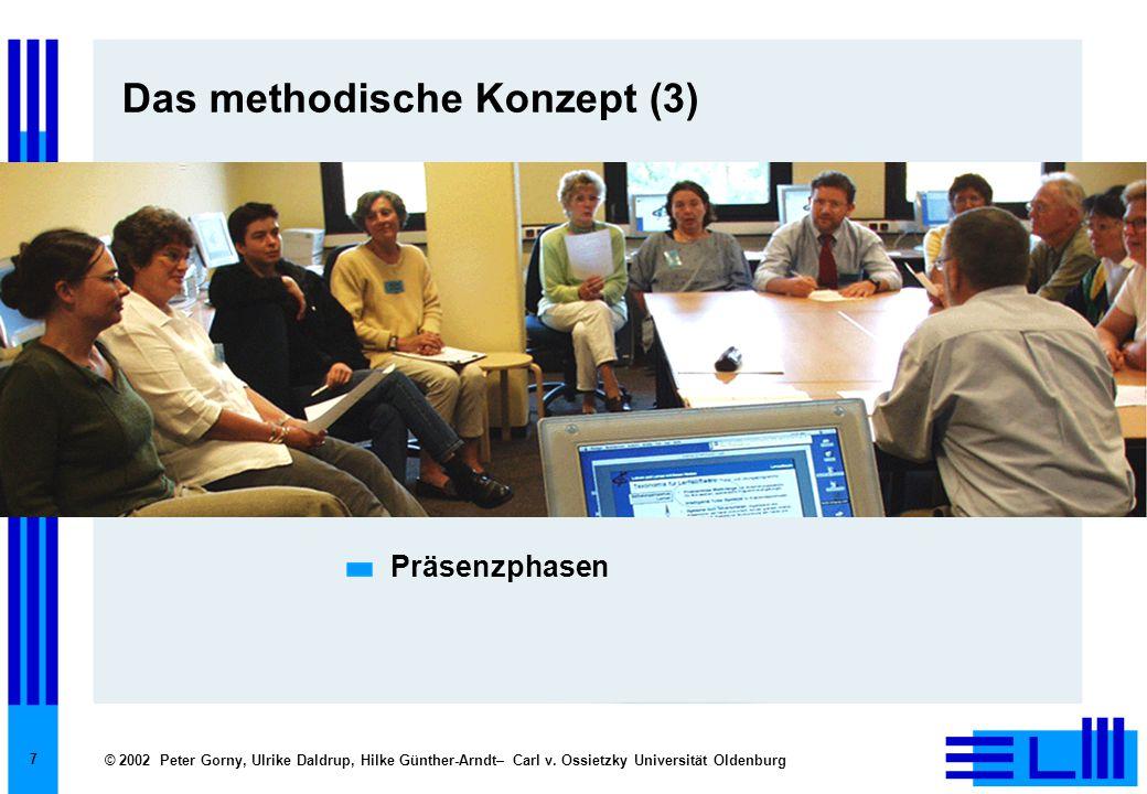 Das methodische Konzept (3)