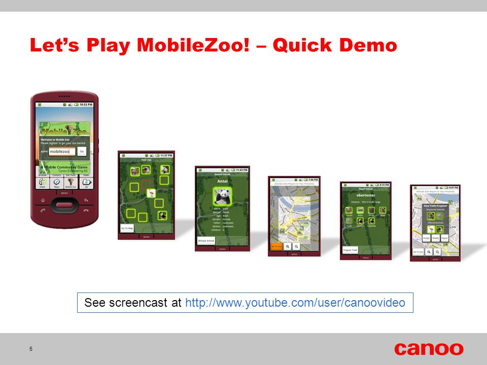 Let's Play MobileZoo! – Quick Demo