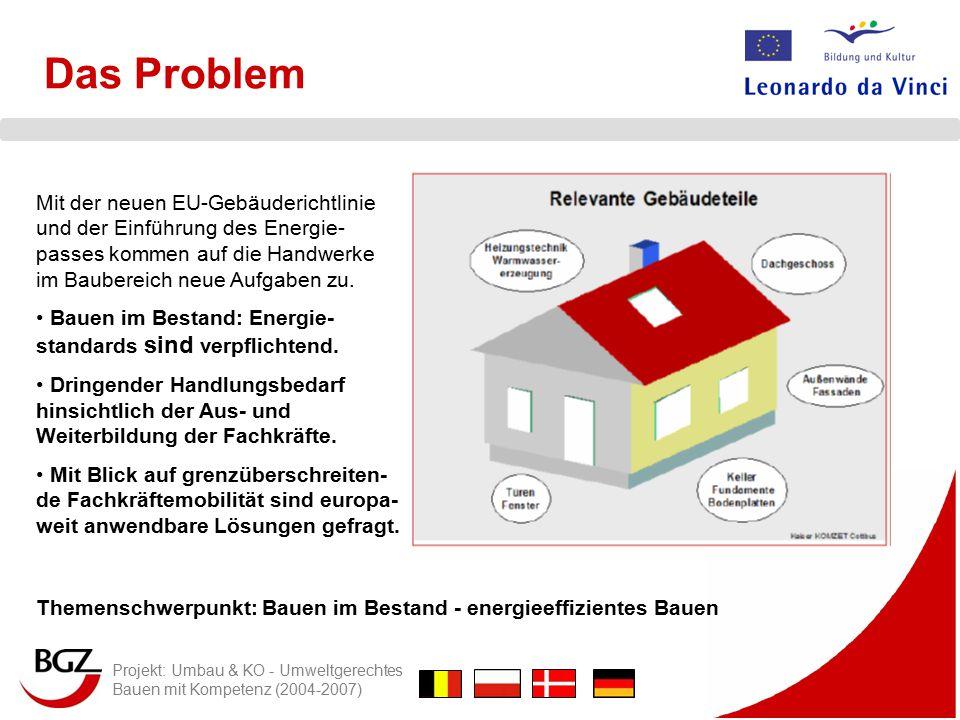Das Problem Mit der neuen EU-Gebäuderichtlinie und der Einführung des Energie-passes kommen auf die Handwerke im Baubereich neue Aufgaben zu.