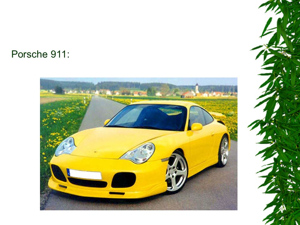 Porsche 911:
