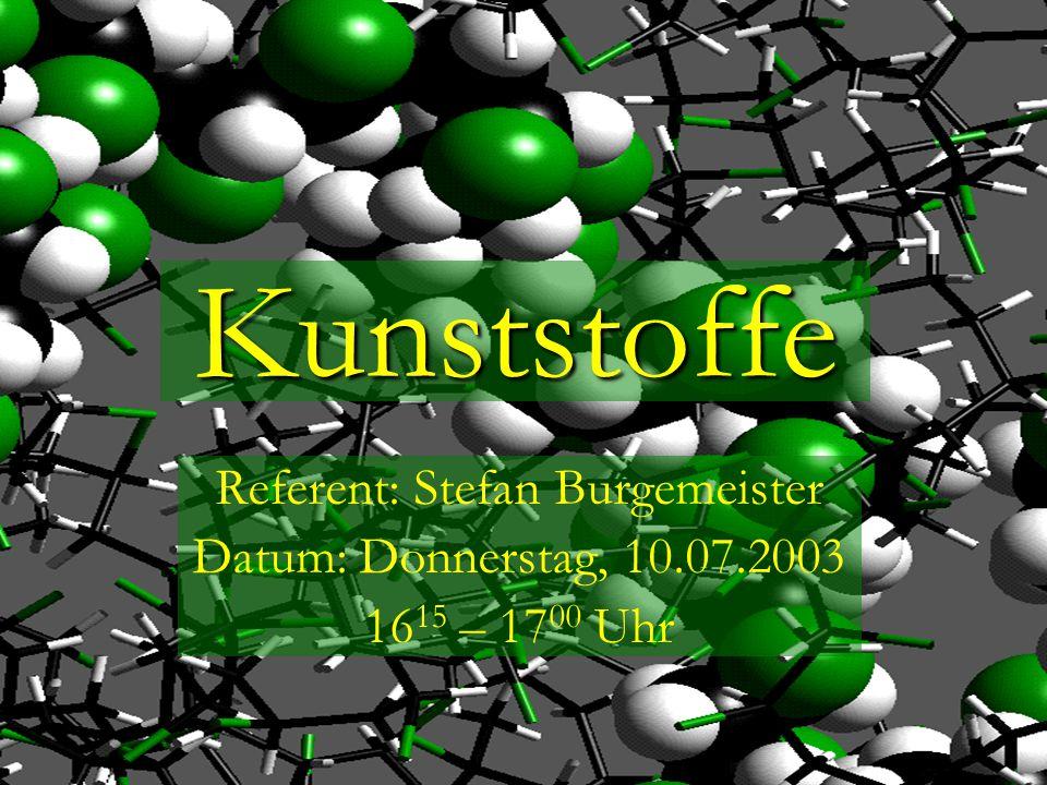 Referent: Stefan Burgemeister