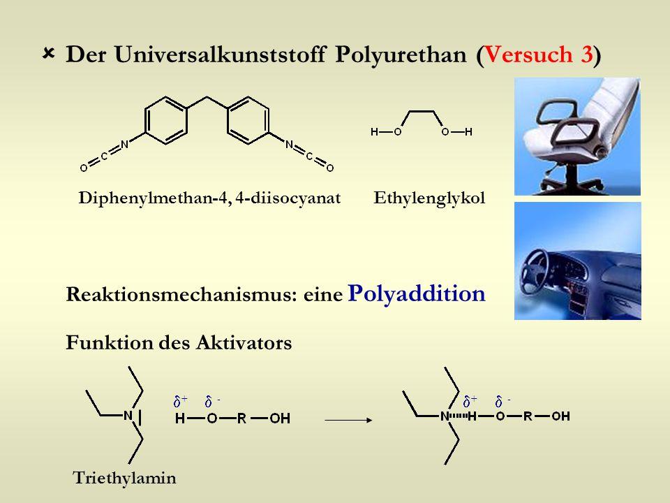 Der Universalkunststoff Polyurethan (Versuch 3)