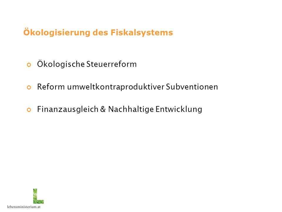 Ökologisierung des Fiskalsystems