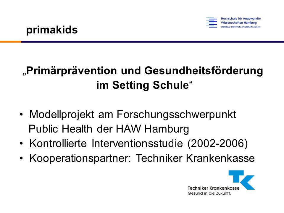 """""""Primärprävention und Gesundheitsförderung"""
