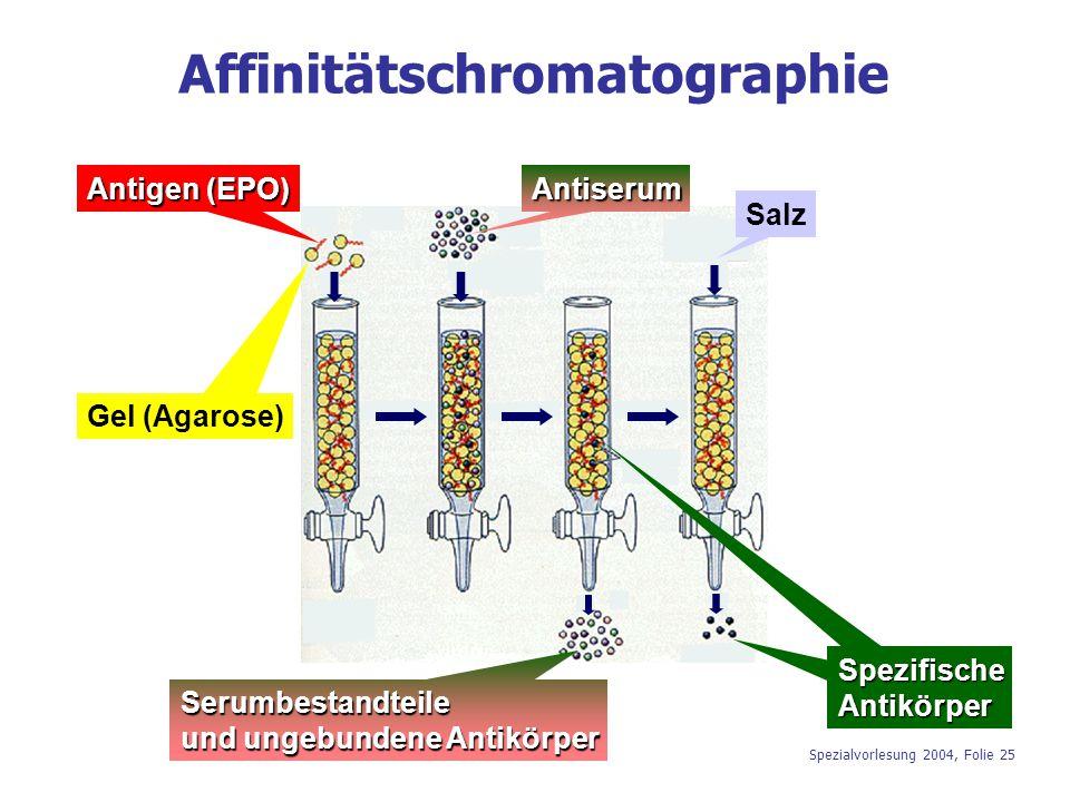Affinitätschromatographie