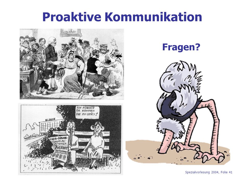 Proaktive Kommunikation
