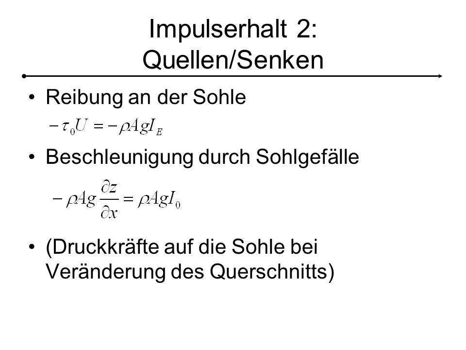 Impulserhalt 2: Quellen/Senken