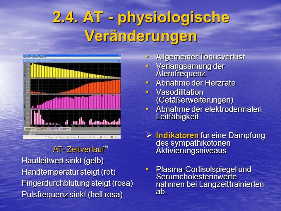 2.4. AT - physiologische Veränderungen