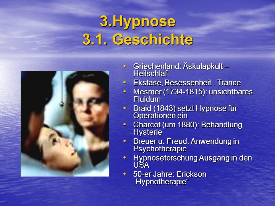 3.Hypnose 3.1. Geschichte Griechenland: Äskulapkult – Heilschlaf