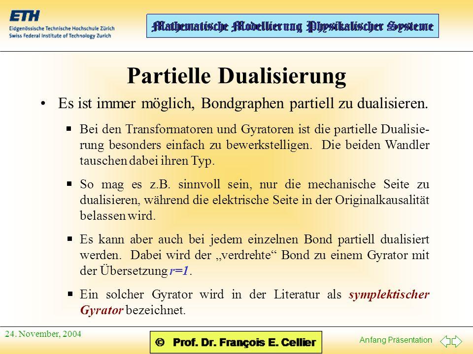 Partielle Dualisierung