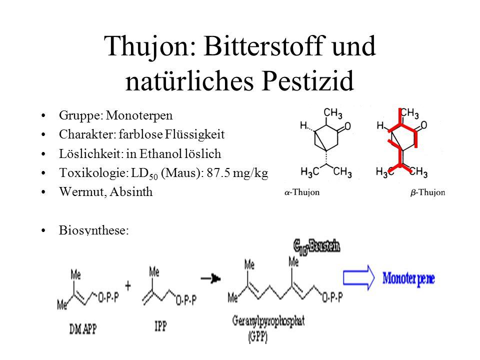 Thujon: Bitterstoff und natürliches Pestizid