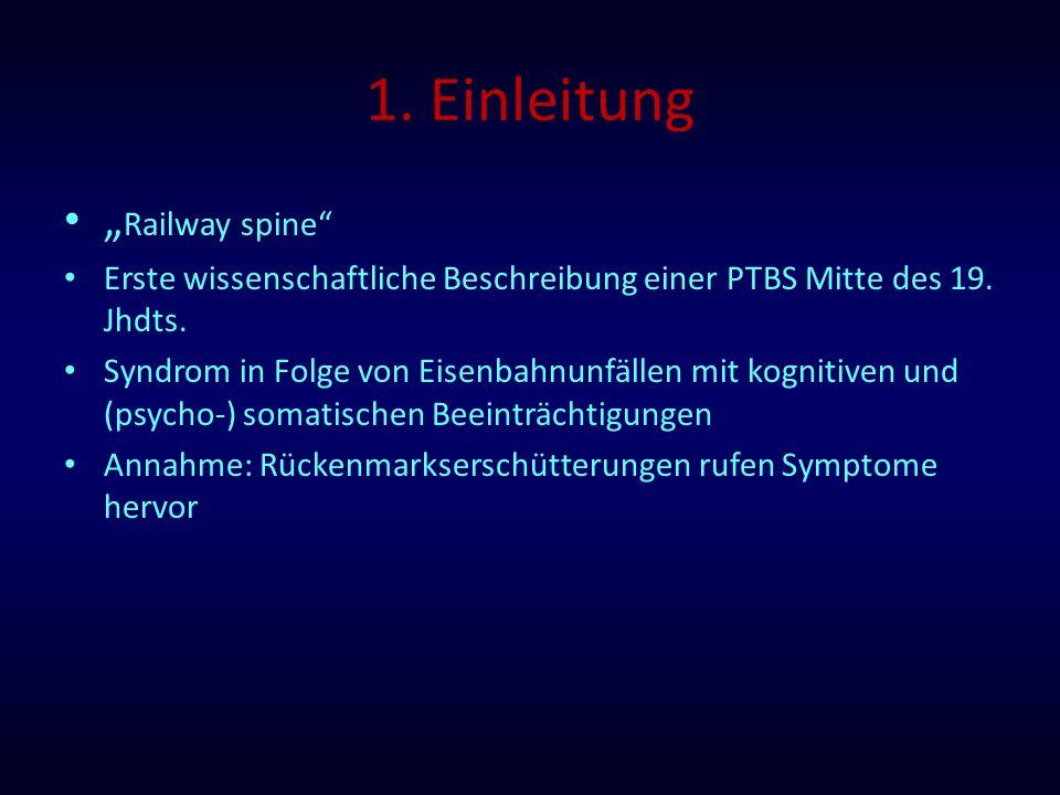 """1. Einleitung """"Railway spine"""