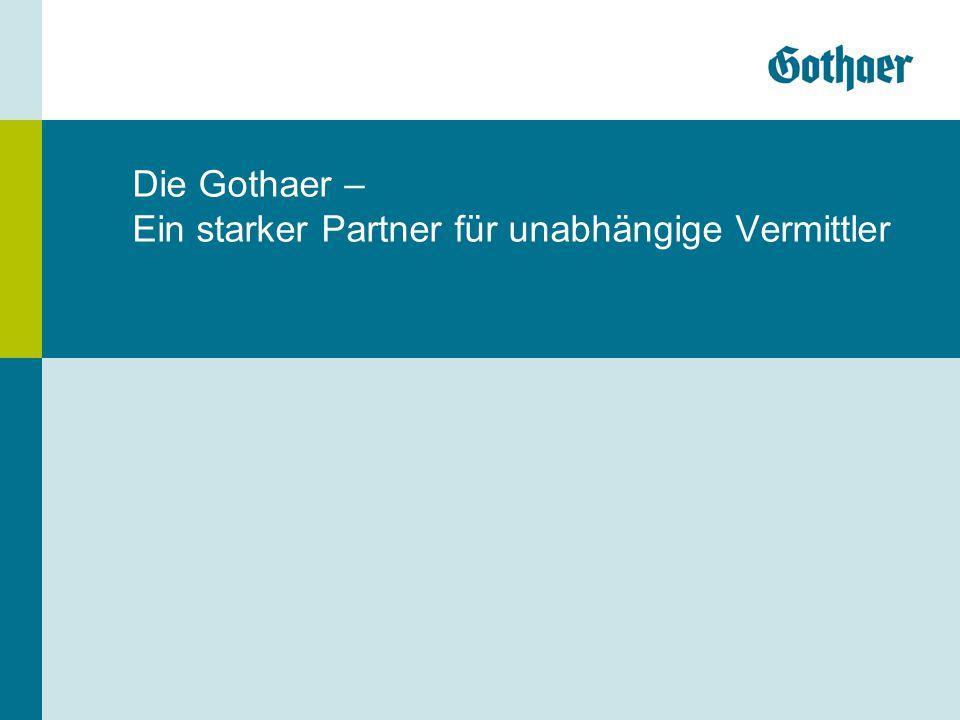 Die Gothaer – Ein starker Partner für unabhängige Vermittler
