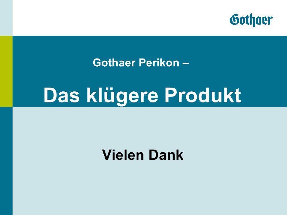 Gothaer Perikon – Das klügere Produkt