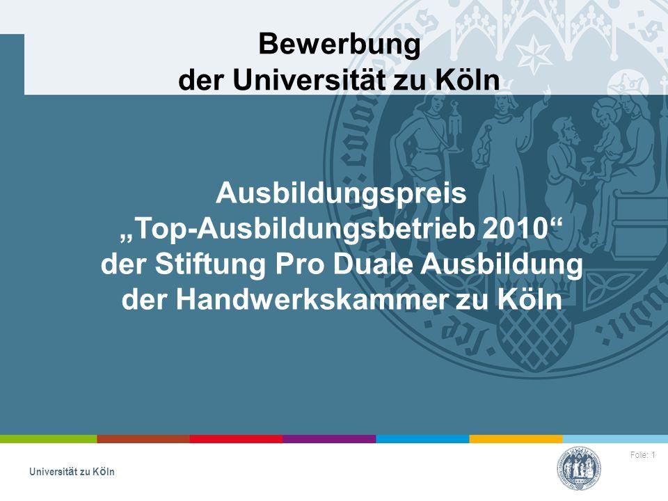 bewerbung der universitt zu kln - Uni Koln Bewerbung